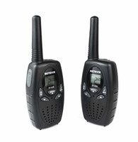 Wholesale New Black A1026A RT628 Walkie Talkie W VOX UHF MHz Portable Two Way Radio A1026A