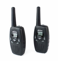 Wholesale DHL New Black A1026A RT628 Walkie Talkie W VOX UHF MHz Portable Two Way Radio A1026A
