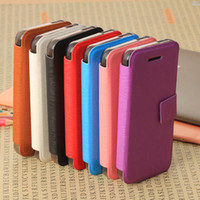 PU Leather + PC  For Apple iPhone For Christmas New Arrival Book Style Brushed Skin PU Leather + PC Plastic Back Cover Case Pouch Business ID Credit Card Holder for iphone 5C 5 C iphone5C