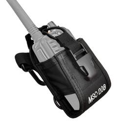 Wholesale Multi function Radio Case Holder For H777 BF S S S Yaesu Icom Motorola GP388 Walkie Talkie Machine Set J0067A