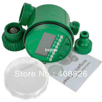 Wholesale New Hot Electronic Sprinkler LCD Garden Water Timer Irrigation Drop shipping TK0976