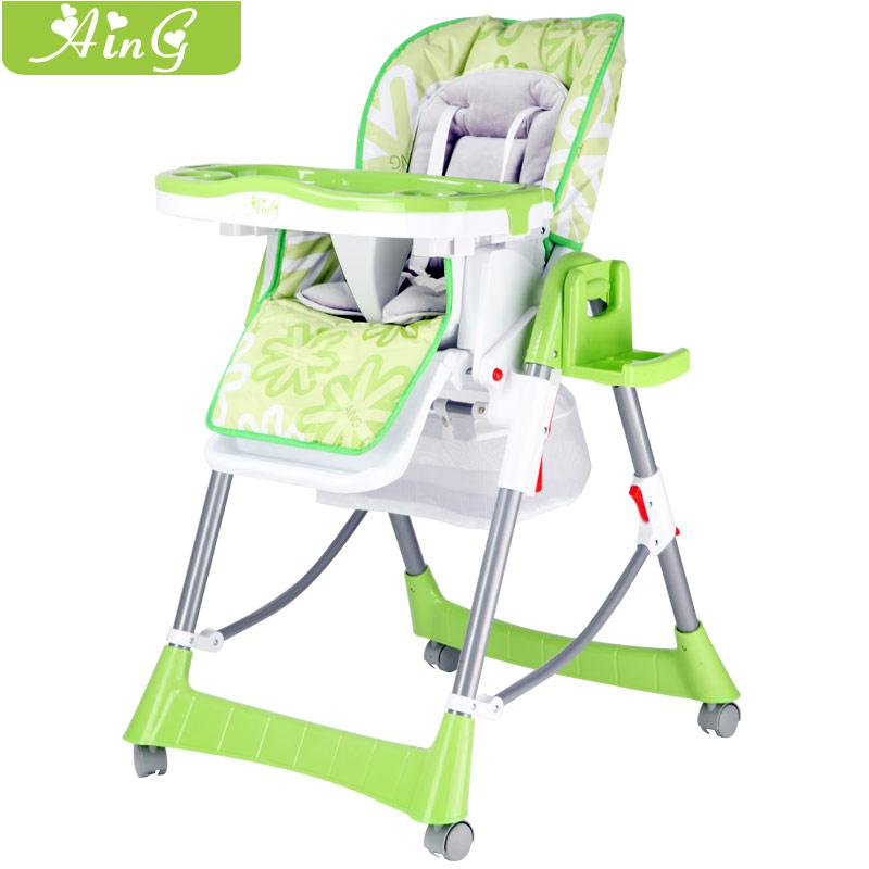 2017 Promotion Baby Child Aing Baby Dining Chair Multifunctional Folding Dini
