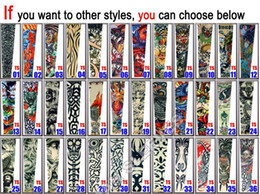 Wholesale Hot Selling Fancy Tattoo Sleeves Arm Sleeve Colorful Tattoo Designs For Men Women Top Arm Stocking