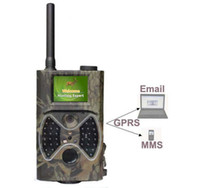 Yes Yes Yes 1080P MMS Digital Infrared Trail Camera 12MP Hunting camera+Antenna+GPRS function HC300M,free shipping