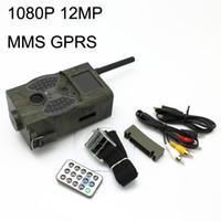 3pcs lot Fedex free, 1080P 12MP MMS Digital Infrared Trail Hu...