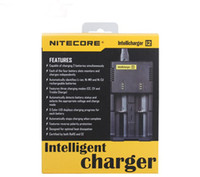 Wholesale Intellicharger i2 Nitecore Universal Battery Charger With EU Plug For CR123A Ni MH AA AAA C Battery