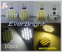 Wholesale G4 led W5W SMD Bulb Camper Marine V Lighting warm white