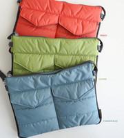 Wholesale Factory Outlet Colorful Gadget Pouch Bags For Ipad Clutch Bag Nylon Cotton Insert Bag W Zipper New Organzier Colors a