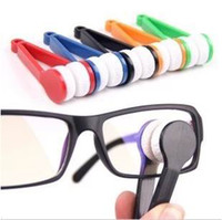 Wholesale Pieces Mini Sun Glasses Eyeglass Microfiber Spectacles Cleaner Soft Brush Cleaning Tool