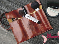 Wholesale 20PCS PU leather stationery kits Twilight minimalist retro large volumes Pencil Pouch