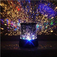 Wholesale New arrival LED Star Master Light Star Projector Led Night Light project lamp with retail package