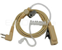 Wholesale 10pcs High quality walkie talkie Headset for Motorola GP88 CT150 CP040 SP10 XTN500 two way CB Ham Radio earpiece C0102R
