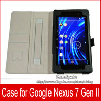 1PC New Cowhide Patern PU leather Case for Google Nexus 7 II...