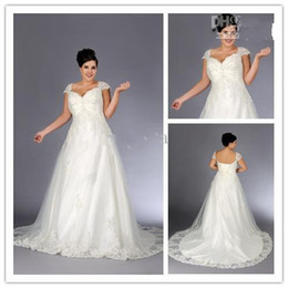 discount wedding dresses plus size