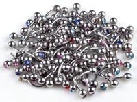 piercing - Brand New Body Piercing Jewelry Stainless steel Crystal fashion jewelry BB20