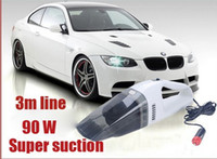 Wholesale Portable W Super Suction Mini V super high power wet and dry Handheld car vacuum cleaner