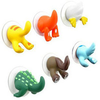 Wholesale Min order is mix order new style animal tail hook suction cup hook strong clothes hanging hook adhesive