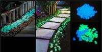Resin ECO Friendly  Hot Sale Glow in The Dark Photoluminescent Resin Stone Fish Tank garden Decoration