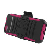 Plastic sport companies - New Sports Company For iPhone Lite c Mix Color Skin Case Hybrid Black Stand Combo Holster