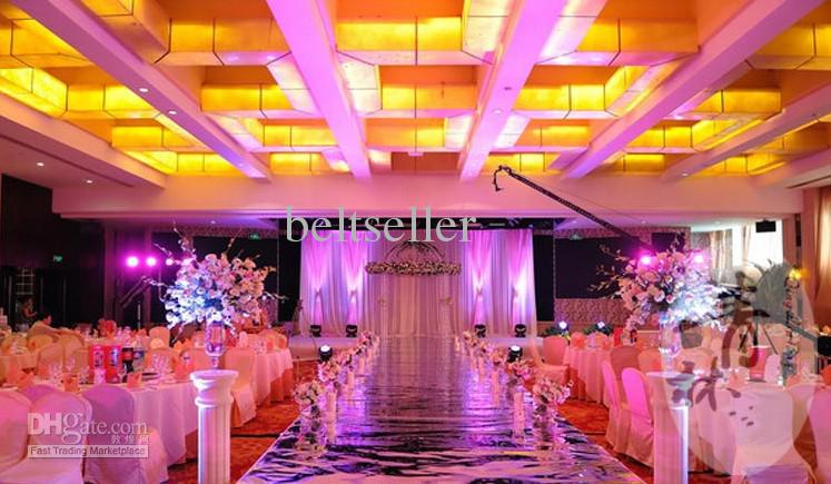 2015 New 12m Wide Mirror Carpet Aisle Runner For Romantic
