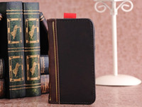 Wholesale for samples pu leather walllet Case Bookbook case cover For IPhone s for iphone5