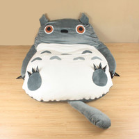 Wholesale My Neighbor Totoro bed kids toys Totoro Double bed Cushion Bed sleeping bag sofa xmas gifts new Best quality