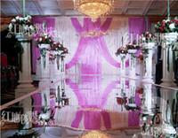 Wholesale Wedding Decoration meter wide Mirror Carpet Wedding Carpet Wedding Carpet Runner M