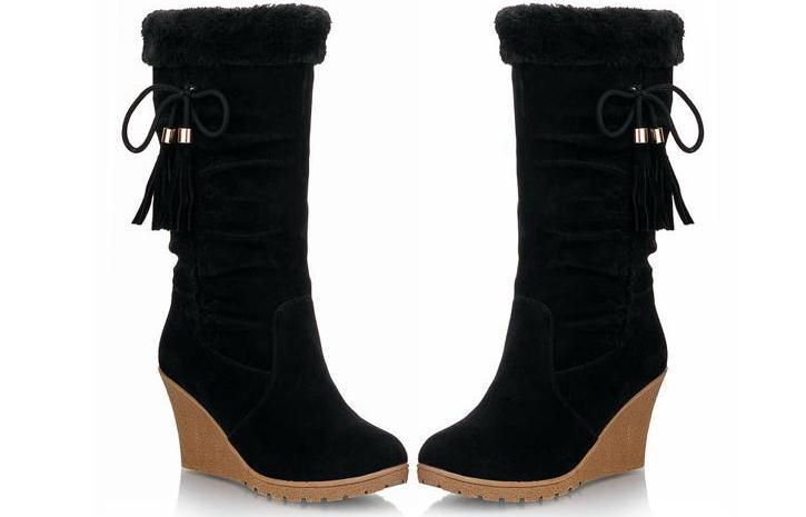 Wedge Boots For Women - Cr Boot