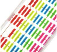 Wholesale 45 cm cm Colourful Flash Car Sticker Music Rhythm LED EL Sheet Light Lamp Sound Music Activated Equalizer car Stickers
