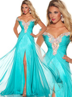Reference Images aqua dress - Stunning Rich Beaded Cap Sleeve Long Chiffon Aqua Formal Evening Prom Pageant Dress Gowns P