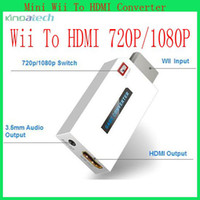 Wholesale for Wii game accessory convert Will to HDMI adapter HDMI Graphics Adapter Converter Multi Display Adapter