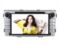 Wholesale HD Car DVD Player GPS Navigation with Bluetooth Touch Screen AUX USB SD iPod for Toyota Hilux