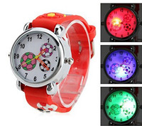 Wholesale 2013 New D Football Student Watches Flashing Led Watches Sports Quartz Wristwatch