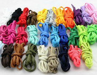 Wholesale DHL pairs cm Semi cirle shoe laces shoelaces