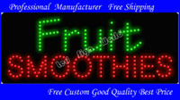 100,000 hours 48 * 25*3 (cm) ABS / PCB 2013 New Style Fruit Smoothies LED Display Free Custom good quality
