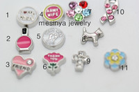 Women's assorted nail designs - 12 designs friend dog nail polish cross flower armywife assorted floating charms no glass living locket Xmas gift