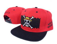 Wholesale New arrival BAITxone piece logo snapbacks caps bule hats hot style adjustable caps
