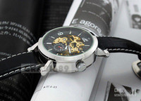 Unisex high quality automatic watches - High Quality Automatic Watch Mens Mechanical CHRO Gold Skeleton