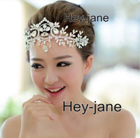Rhinestone/Crystal affordable hair accessories - 2016 New Style Affordable Luxury Rhinestone Crystal Hair Accessory Frontlet Prom Homecoming Hair Accessory