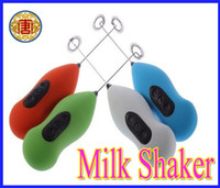 Wholesale HOT SALE Home Electric Handle Coffee Milk Egg Beater Mixer Shaker Frother