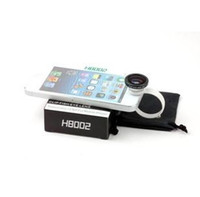 Wholesale Circle Clip Fisheye Fish Eye Lens Telescopes For iPhone Samsung Tablet Universal Lens