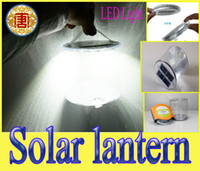Free shipping PVC solar gas filled lantern Emergency Lamp 36...
