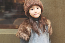 Wholesale 2013 new girls cotton vest fur vest quality child children autumn winter clothes