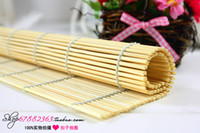 Cheap Bamboo curtain bamboo mat coasters pad photography props background board blanket props accessories