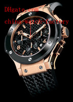 Men's Analog  Factory Supplier AAA Top Quality Wristwatch In Box Luxury 18k Rose Gold Japan Quartz Movement Chronograph Working Mens Watch Men's Watches