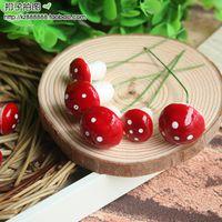 Cheap Mini strawberry foam decoration small diy decoration plants