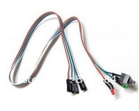 Desktop atx power switch - good quality PC ATX Power Supply Reset Switch Cable LED Lights New