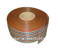 Wholesale NEW M WAY Flat Color Rainbow Ribbon Cable wire Rainbow Cable