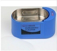 Wholesale freeshipping Mini Ultrasonic Cleaner Cleaning V W
