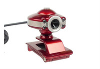 Wholesale Hot Sale UFO USB LED mega Web Cam PC Camera Webcam HD With Microphone For Computer PC Laptop Without Retail Package